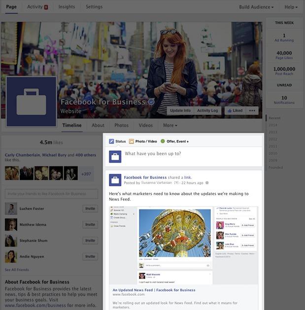 Cum utilizam Facebook News Feed pentru afacerea noastra?