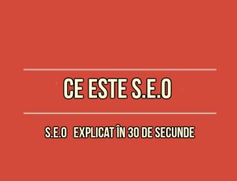 Ce este SEO, si cum alegi o companie SEO pentru o eventuala colaborare?