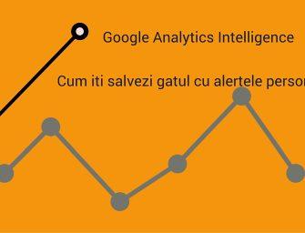 6 alerte esentiale Google Analytics pentru specialisti SEO si agentiile web
