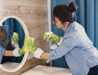 Ce produse nu sunt indicate pentru a curata oglinda?